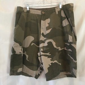 Burnside Men's Camo Camouflage Cargo Shorts Sz 38